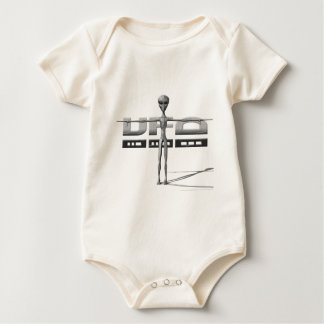 Apparel for adults and teenagers with UFO Baby Bodysuit