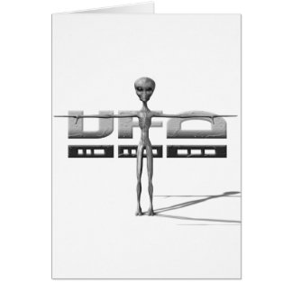 Apparel for adults and teenagers with UFO Greeting Card