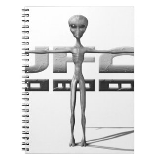 Apparel for adults and teenagers with UFO Journals