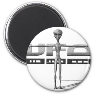 Apparel for adults and teenagers with UFO Fridge Magnet
