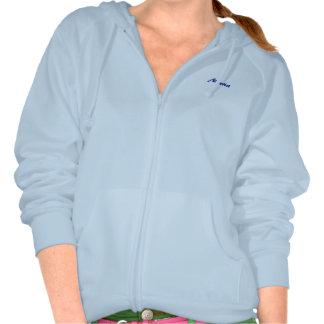 Apparel for Maria long sleeve blue t-shirt