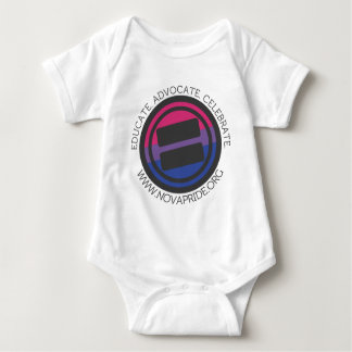 Apparel - Large Bisexual Round with round text Baby Bodysuit