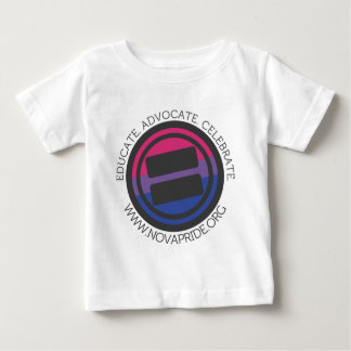 Apparel - Large Bisexual Round with round text Baby T-Shirt