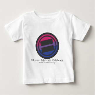 Apparel - Large Bisexual Round with Tag and URL Baby T-Shirt