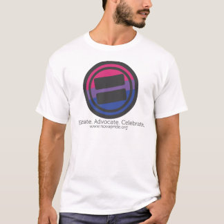 Apparel - Large Bisexual Round with Tag and URL T-Shirt
