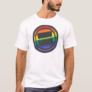Apparel - Large LGBT Round Front T-Shirt