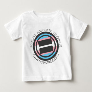 Apparel - Large Transgender Round with round text Baby T-Shirt