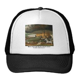 Apparel - What crime did Noah's Flood solve? Trucker Hat