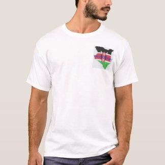 Apparel with Kenyan flag and map T-Shirt