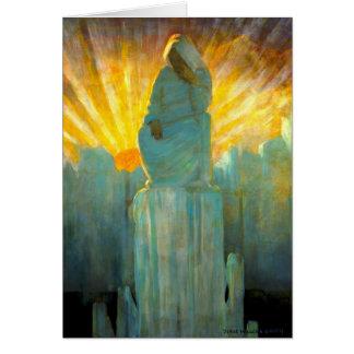Apparition 1916 greeting card