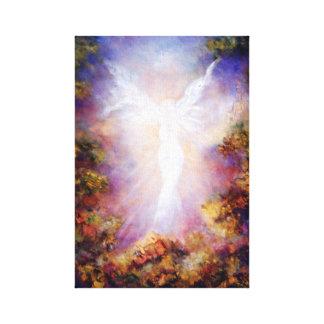 Apparition, Angel Art Print on Canvas