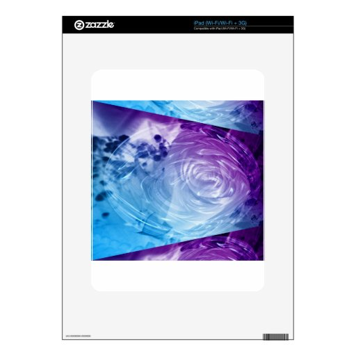 Apparition of a Rose iPad Skin
