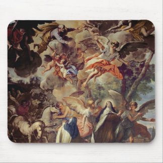 Apparition of St. Joseph to St. Theresa Mouse Pad