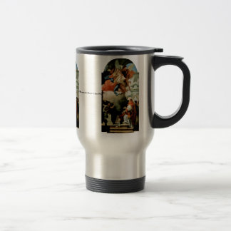 Apparition Of The Virgin 15 Oz Stainless Steel Travel Mug