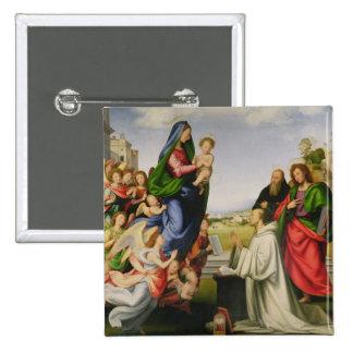 Apparition of the Virgin to St. Bernard, 1504-07 ( Button