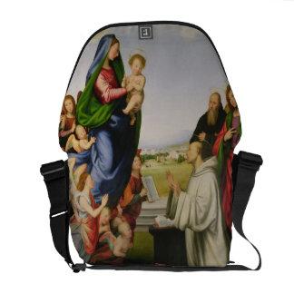 Apparition of the Virgin to St. Bernard, 1504-07 ( Messenger Bag