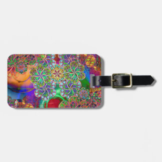Apparitions And Flowers Bag Tag