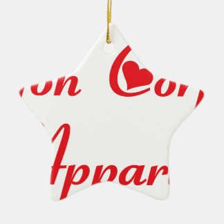 APPARTIENT.png BODY Ceramic Ornament