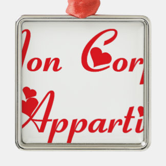 APPARTIENT.png BODY Metal Ornament