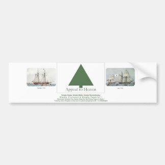 Appeal to Heaven Liberty Tree Flag Car Bumper Sticker