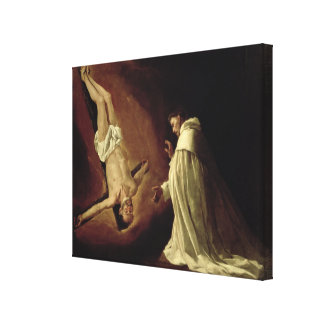 Appearance of St. Peter to St. Peter Nolasco Canvas Print