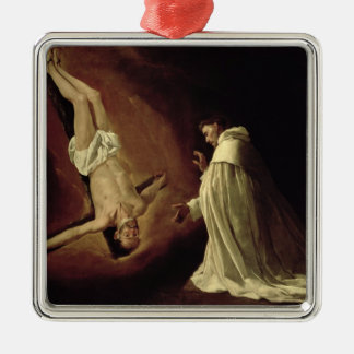 Appearance of St. Peter to St. Peter Nolasco Metal Ornament
