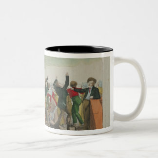 Appearance of the Great Comet in 1811 Two-Tone Coffee Mug