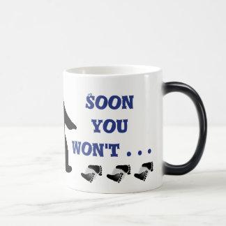 Appearing and Disappearing Bigfoot Mug! Magic Mug