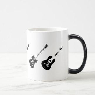 Appearing Guitars Morphing Mug