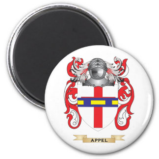 Appel Coat of Arms (Family Crest) 2 Inch Round Magnet