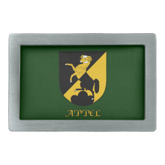 Appel Family Shield Belt Buckle
