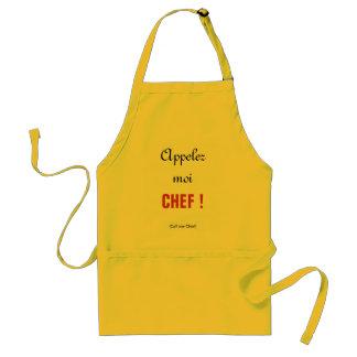 APPELEZ-MOI CHEF Apron Aprons