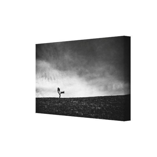appendages on hill canvas print