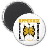 Appendix Awareness Butterfly Magnet