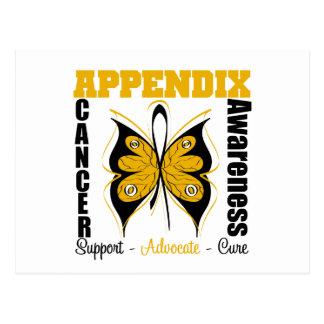 Appendix Awareness Butterfly Post Card