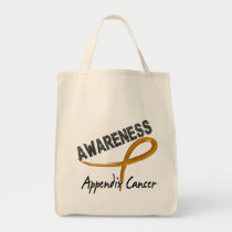 Appendix Cancer Awareness 3 Tote Bag