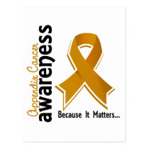 Appendix Cancer Awareness 5 Postcard