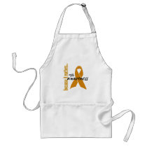 Appendix Cancer Awareness Adult Apron