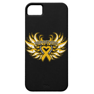 Appendix Cancer Awareness Heart Wings iPhone SE/5/5s Case