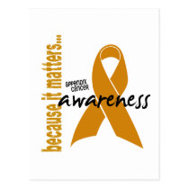 Appendix Cancer Awareness Postcard