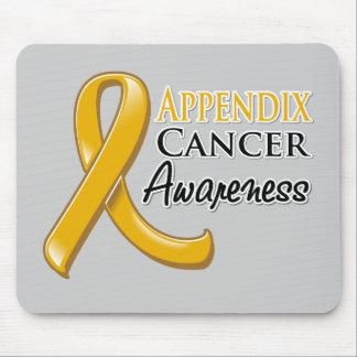 Appendix Cancer Awareness Ribbon Mouse Pad