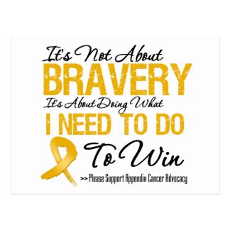 Appendix Cancer Battle Post Cards