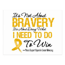 Appendix Cancer Battle Postcard