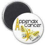 Appendix Cancer BUTTERFLY 3.1 Fridge Magnet