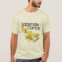 Appendix Cancer BUTTERFLY 3.1 T-Shirt