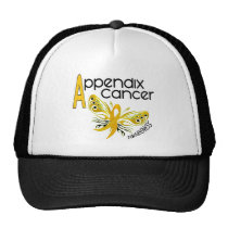Appendix Cancer BUTTERFLY 3.1 Trucker Hat