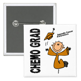 Appendix Cancer CHEMO GRAD 1 Button