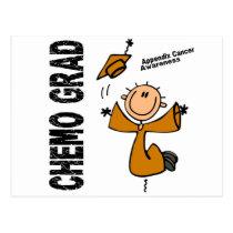 Appendix Cancer CHEMO GRAD 1 Postcard