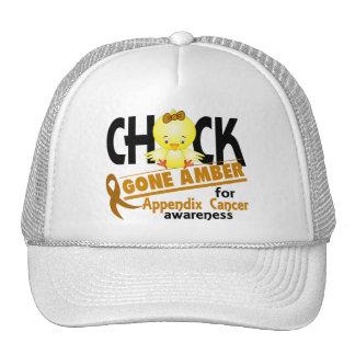 Appendix Cancer Chick Gone Amber 2 Mesh Hats