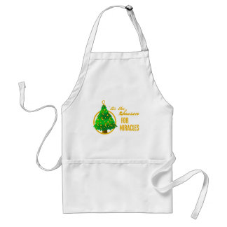 Appendix Cancer Christmas Miracles Adult Apron